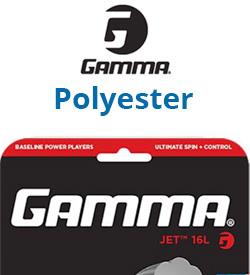 Gamma Polyester String