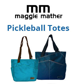 Maggie Mather Pickleball Tote Bags