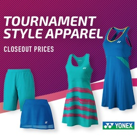 Closeout Sale! Yonex Tournament Style Tennis Apparel