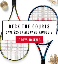 Wilson Camo Tennis Racquet December Deal
