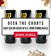 Wilson US Open Tennis Ball Case December Deal