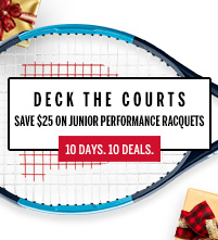 Wilson Junior Tennis Racquet December Deals