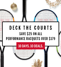 Wilson Performance Tennis Racquet December Deal