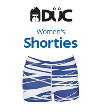 DUC Women's Team Tennis Shorties