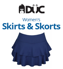 DUC Women's Team Tennis Skirts and Skorts