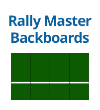 Rally Master Backboards - Tennis Training Aids