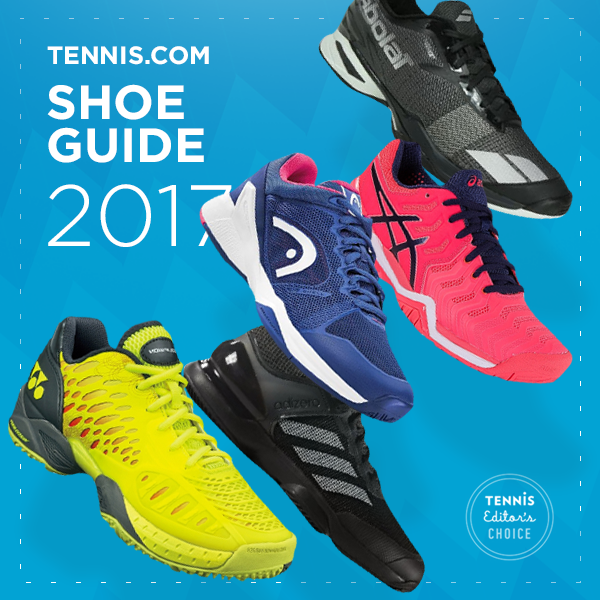 Tennis.com 2017 Shoe Guide Featured Products