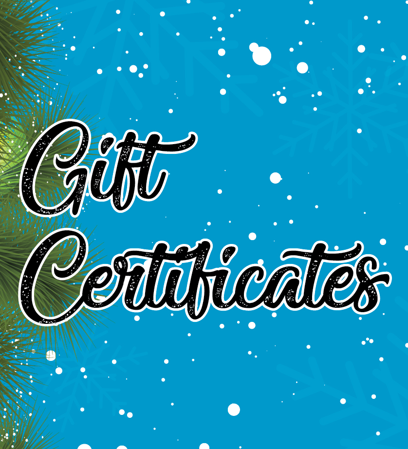 Do It Tennis Gift Certificates