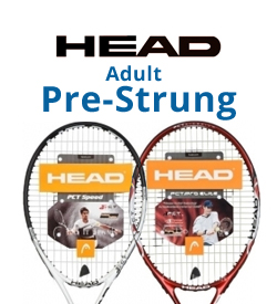 Head Pre-Strung Adult Tennis Racquets