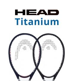 Head Titanium Tennis Racquets