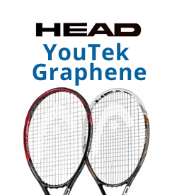 Head YouTek Graphene Tennis Racquets