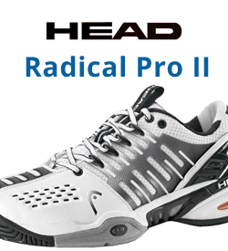 Head Radical Pro II Tennis Shoes