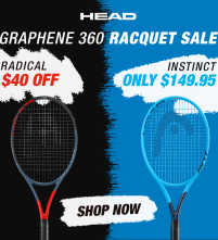 $30 Off Head Speed and Radical Tennis Racquets