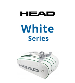 Head White Series Tennis Bags
