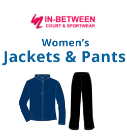 In-Between Jackets & Pants Tennis Apparel