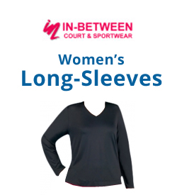 In-Between Women's Long-Sleeve Shirts Tennis Apparel