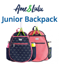 Ame & Lulu Junior Tennis Camper Backpack for Girls