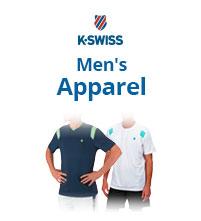 K-Swiss Men's Apparel