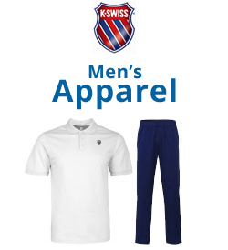 K-Swiss Men's Apparel Tennis Apparel