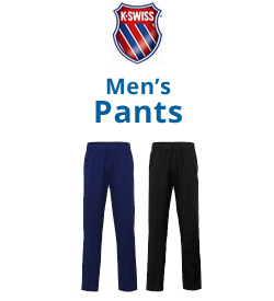 K-Swiss Men's Pants Tennis Apparel