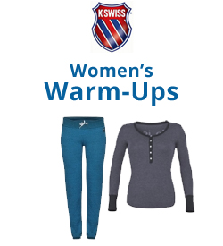 K-Swiss Women's Warm-Ups Tennis Apparel