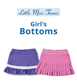 Little Miss Tennis Girl's Bottom's Tennis Apparel
