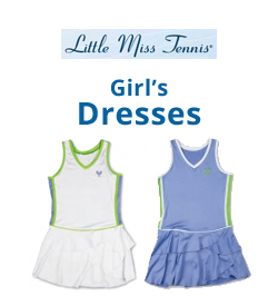 Little Miss Tennis Girl's Dresses