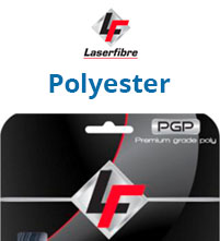 Laserfibre Polyester Tennis String Sets Made in USA
