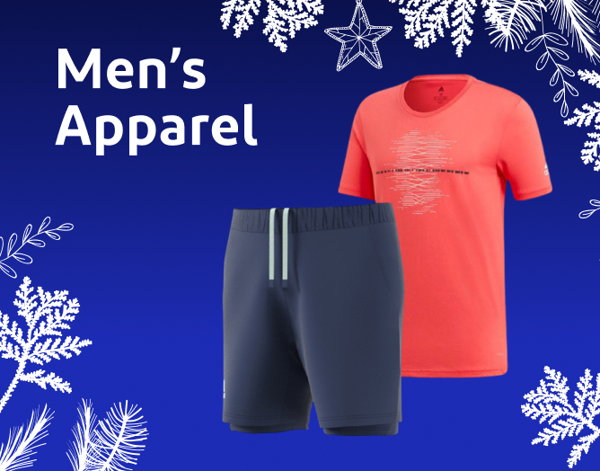 Clearance Sale! Discount Prices on Men's Tennis Apparel