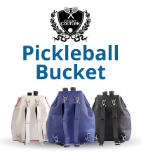 Court Couture Pickleball Bucket Shoulder Bag Tote Backpack Combo
