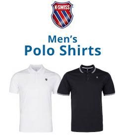 K-Swiss Men's Polo Shirts