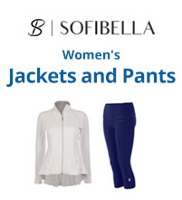 Sofibella Women's Tennis Jackets and Pants