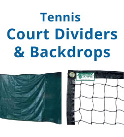 Tennis Court Dividers       & Backdrop Curtains