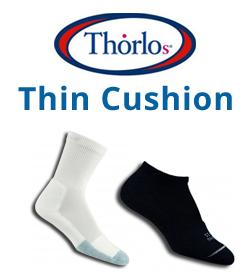 Thin Cushion Socks