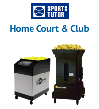 Sports Tutor Tennis Ball Machines for Home Courts & Clubs