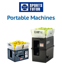 Portable Tennis Tutor Ball Machines