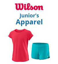 Wilson Junior Tennis Apparel Boys Girls