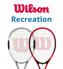 Wilson Recreation Pre-Strung Tennis Racquets