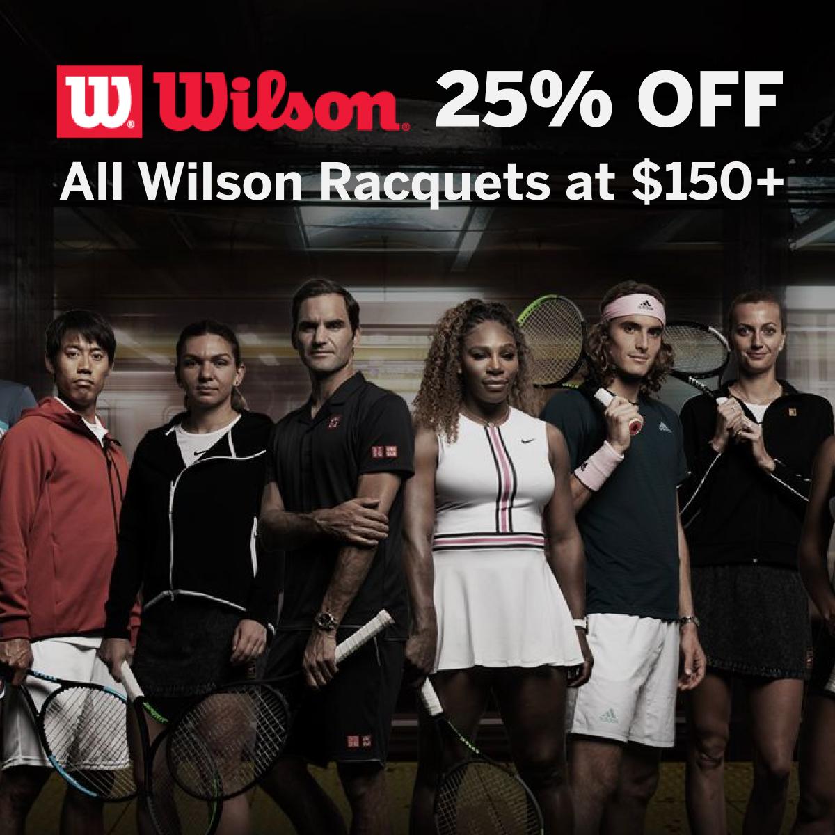 Wilson Racquets & Bags