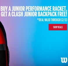 Free Clash Backpack Junior Performance Racquet