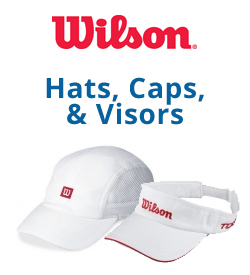 Wilson Hats, Caps, and Visors Tennis Apparel