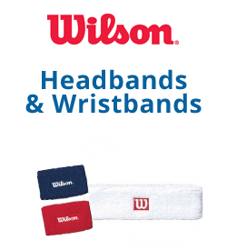 Wilson Headbands & Writsbands Tennis Apparel