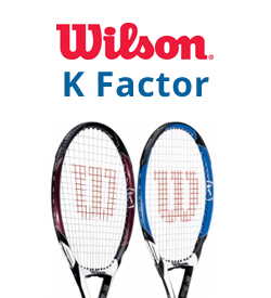 Wilson K Factor Tennis Rackets