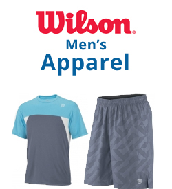 Wilson Men's Apparel Tennis Apparel