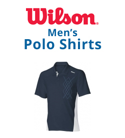 Wilson Men's Polo Shirts Tennis Apparel