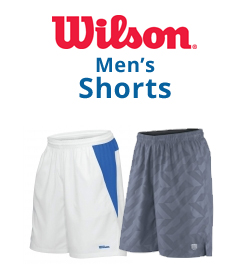 Wilson Men's Shorts Tennis Apparel
