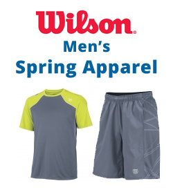 Wilson Men's Spring Apparel