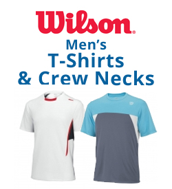 Wilson Men's T-Shirts & Crew Necks Tennis Apparel
