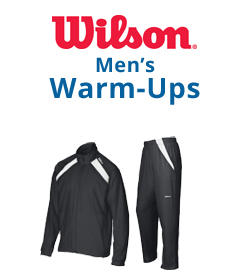 Wilson Men's Warm-Ups Tennis Apparel