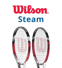 Wilson Steam Tennis Racquets